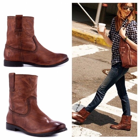 7b61d100c441 Frye Shoes - Frye Anna Shortie Boot